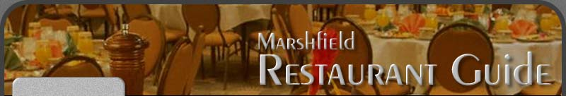 Marshfield Restaurant Guide